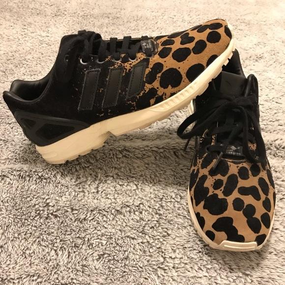 bd4197f5f2c adidas Shoes - Adidas Original ZX Flux Ombré Animal Print Sneaker